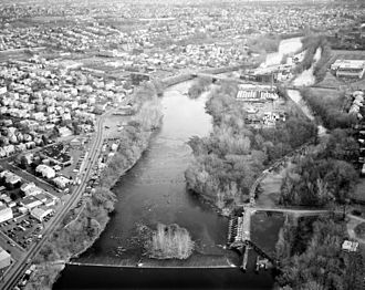 Dundee Canal - Image: Dundee Canal 1997