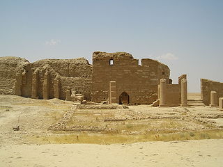 Dura-Europos archaeological site
