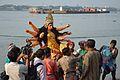 Durga Idol Immersion - Baja Kadamtala Ghat - Kolkata 2012-10-24 1591.JPG