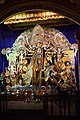 Durga with Her Family - Falguni Sangha - Suren Tagore Road - Kolkata 2013-10-11 3390.JPG