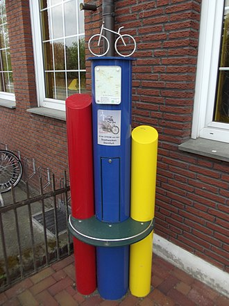 Electric bicycle - E-bike charging station, Germany
