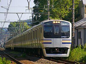 Yokosuka Line - Image: E217 JR East