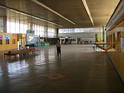 Most of the intercity travelers having switched from the big state-run buses to minivans, the palatial halls of Bishkek's West Bus Terminal remain mostly deserted
