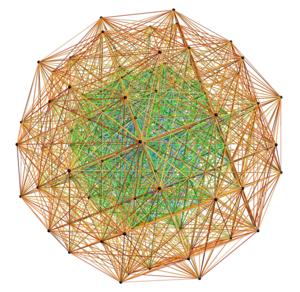 4 21 polytope - Image: E8 3D