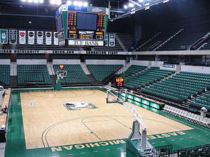 Convocation Center (Eastern Michigan University) - Image: EMU Convocation Center