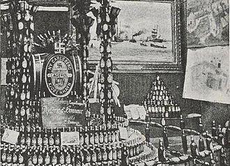 Carlsberg Group - Diplome d'Honneur Antwerp 1885 expo