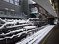 Earls Court Station on a snowy day, looking west - geograph.org.uk - 1145179.jpg
