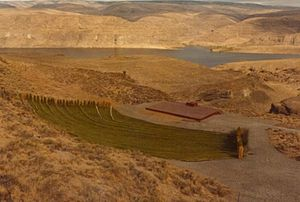 "The Gorge Amphitheatre - Early shot of ""The Gorge"", prior to expansion."