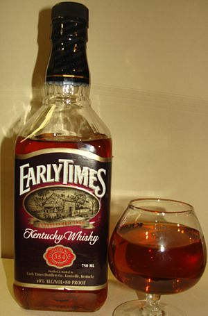 Early Times - A bottle of Early Times