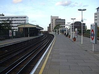East Putney tube station London Underground station