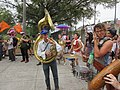 Easter Sunday in New Orleans - Brass Band Jam by Armstrong Arch 14.jpg