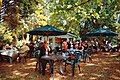 Easton Lodge Gardens, Little Easton, Essex, England outdoor café 04 digiart 07.jpg