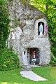 Ebenthal Gurnitz Kirchenstrasse Lourdes-Grotte 14052010 09.jpg
