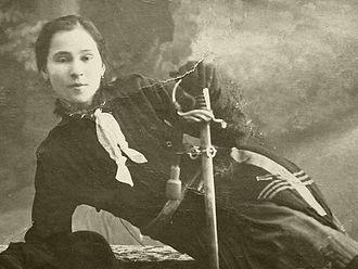 Ecaterina Teodoroiu - Image: Ecaterina Teodoroiu Muzeul Militar Regele Ferdinand
