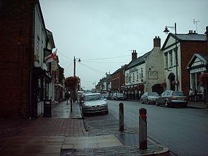 Eccleshall - Image: Eccleshall Staffordshire UK