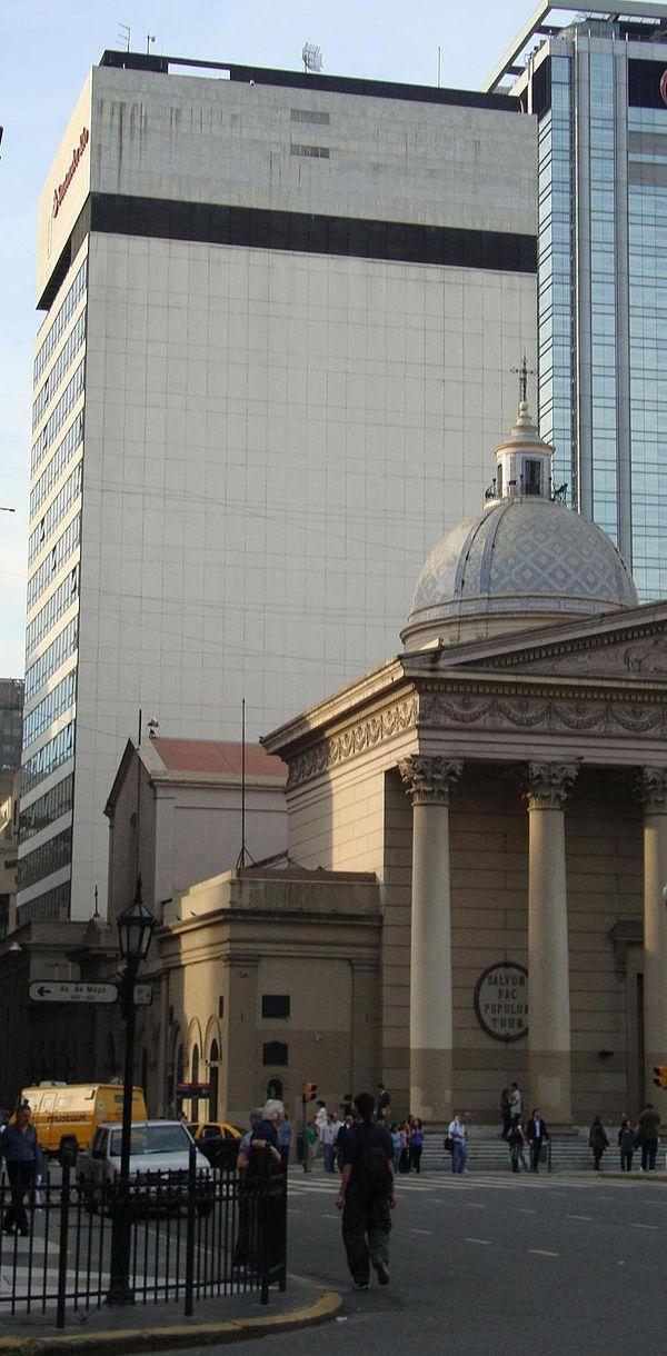 Financial services companies of argentina for Banco santander oficina central madrid