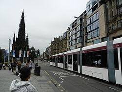 Edinburgh tram, 24 June 2014 (2).jpg
