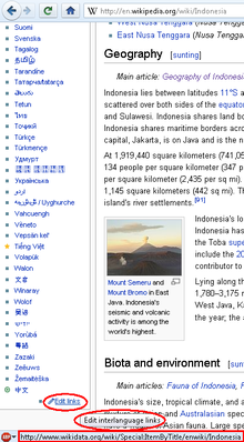 Edit interlanguage links via Wikidata in English Wikipedia.png