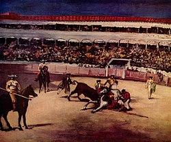 Édouard Manet: Combat de taureaux