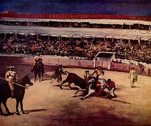 Bullwrestling , Édouard Manet , 1865–1866