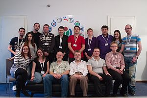 EduWiki Learning Day Belgrade 2014 - DM (45) - group photo.jpg