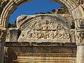 Efeso, tempio di adriano 07 medusa.JPG