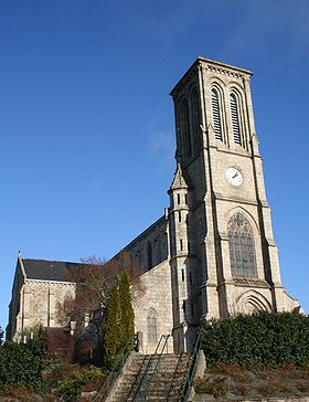 Église Saint-Laurent.