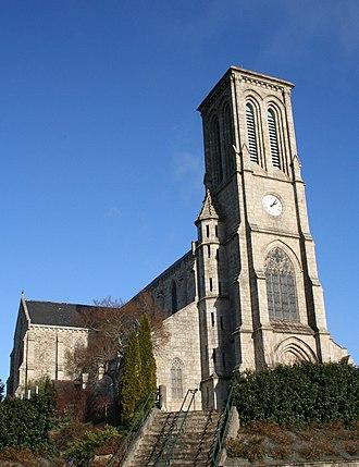 Callac - The church of Saint-Laurent