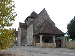 Eglise romane Saint Jean Baptiste (Saint Jean Lespinasse).JPG