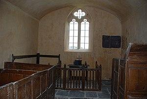 St Baglan's Church, Llanfaglan - St Baglan's, interior