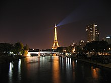 Eiffel Tower Seine Night Pictures on The Eiffel Tower And The Seine At Night
