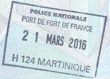 Visa policies of the French overseas departments and