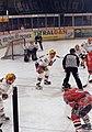 Eishockey Eisbaeren gegen Capitals 1997 - Bully.jpg