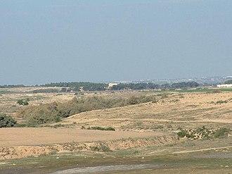 Battle of Buqqar Ridge - El Buqqar Ridge