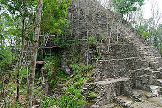 El Mirador - Pyramid at El Mirador