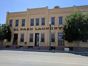 Chihuahuita - Old El Paso Laundry Building in Chihuahuita.