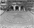 Elaborate preparations were made for the Potsdam Conference in this display in the courtyard between the main gate... - NARA - 198947.tif