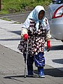 Elderly Woman with Cane - Furano - Hokkaido - Japan (48012228898).jpg