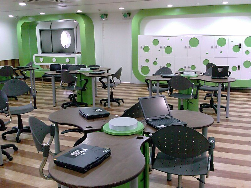 Modern Classroom Wikipedia ~ File elearnroom g wikimedia commons