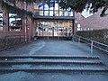Elementary School, entrance, Ujvidek Square, 2017 Zuglo.jpg