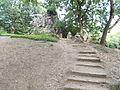 Elisabeth Memorial Rock. Stairs (SW). - Elisabeth Park, Gödöllő.JPG