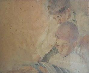 Meus sobrinhos Ângelo e Eliseu Scarpa