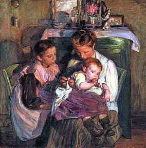 Elizabeth Nourse - Image: Elizabeth Nourse Happy Days 1905