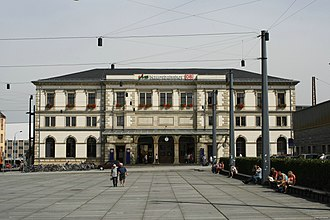 Neukieritzsch–Chemnitz railway - Chemnitz Hauptbahnhof (2009)