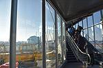Emplaning via apron jet bridge at Munich Airport.jpg