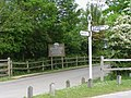 Entrance to Buckler's Hard car park - geograph.org.uk - 177002.jpg