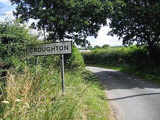 Croughton, Cheshire Human settlement in England