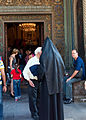 Entrance to Echmiadzin Cathedral, Armenia (5046470071).jpg