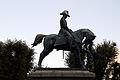 Equestrian statue of Carlo Alberto (Rome) - Lateral view.jpg