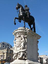 Equestrian statue of Charles I, Charing Cross.jpg